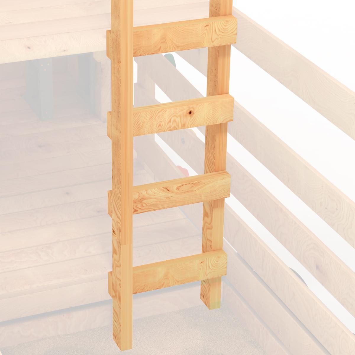 Spielturm Feuerwehr Klettergerüst Spielplatz Leiter Treppe Schaukel von BIBEX