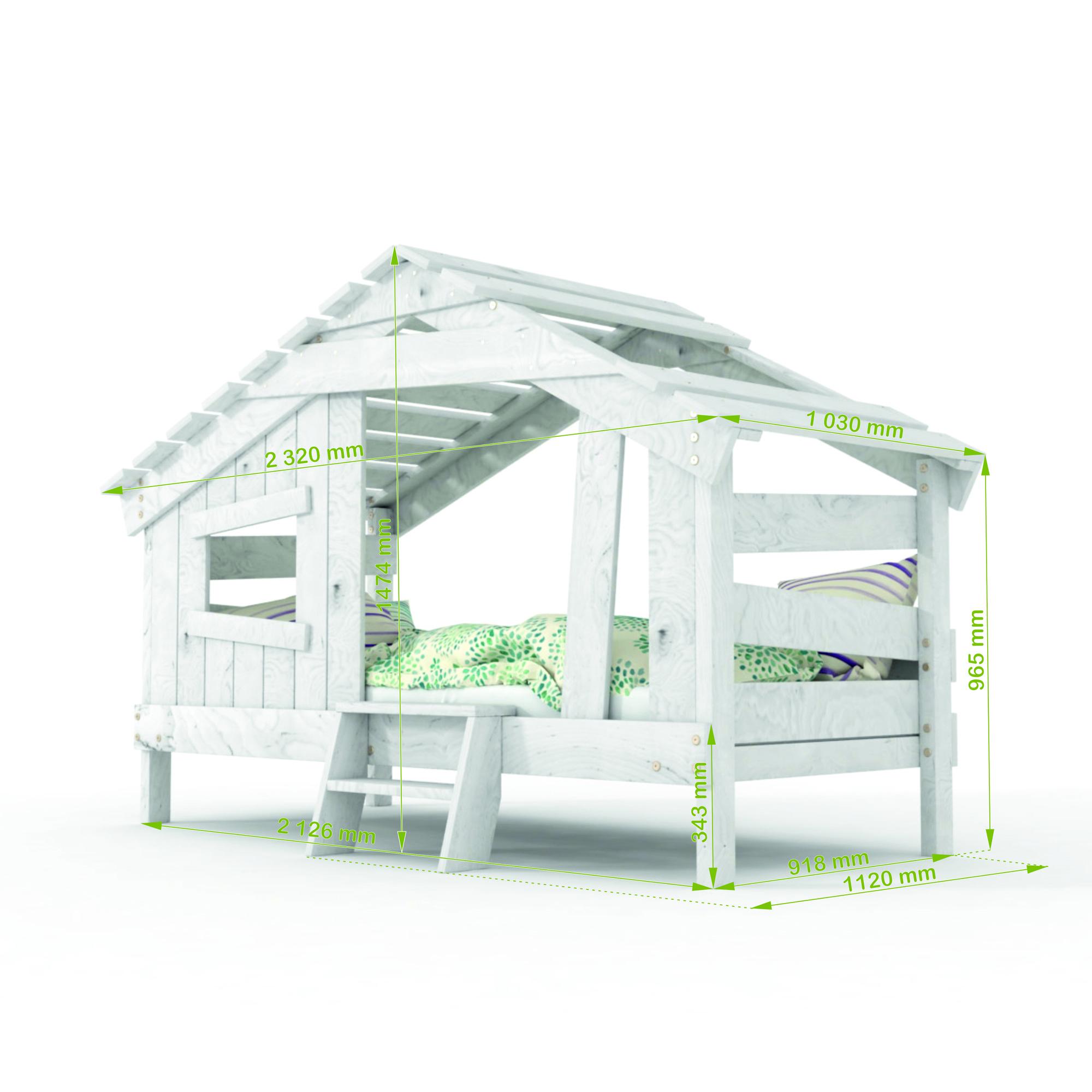 Abmessungen vom Doppel-Hochbett für Kinder