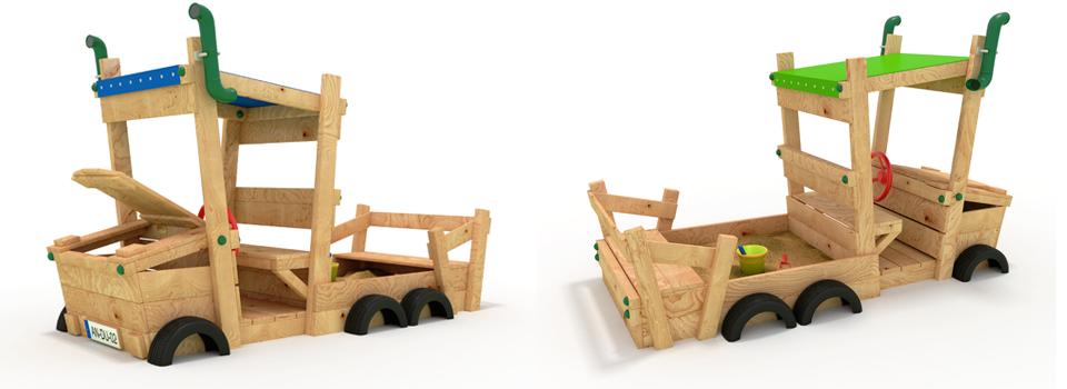 sandkasten mit spielhaus top angebote. Black Bedroom Furniture Sets. Home Design Ideas